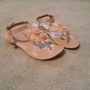 Cute Pink flower Sandals